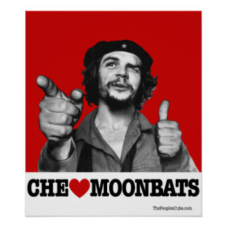 Che Guevara - poster de Moonbats del corazón de Ch