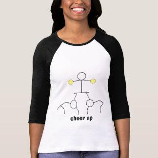 cheer2, animan para arriba camiseta