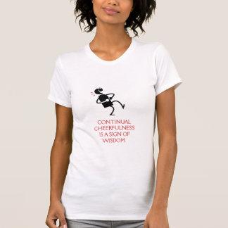 Cheerfulness continuo camiseta