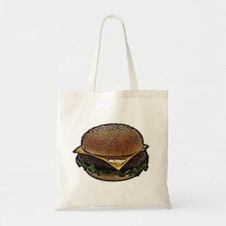 Cheeseburger Bolsa Tela Barata