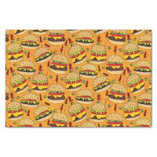 Cheeseburger de lujo papel de seda