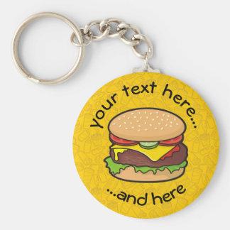 Cheeseburger Llavero