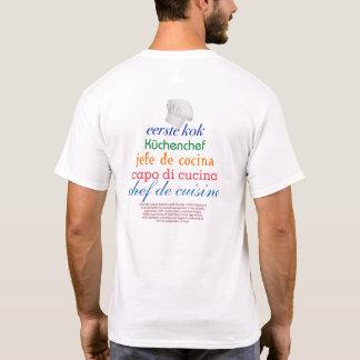 chef de cuisine camiseta