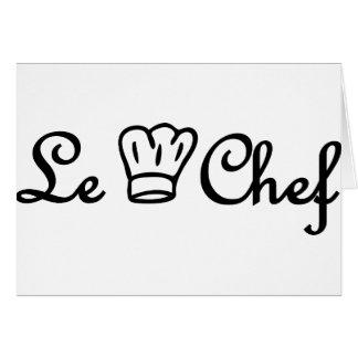 chef de cuisine felicitacion
