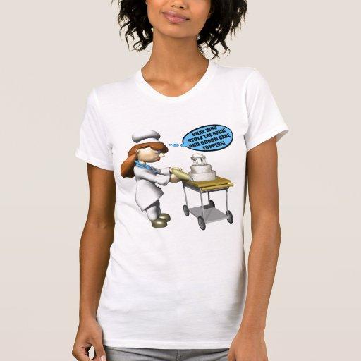Chef de repostería camiseta