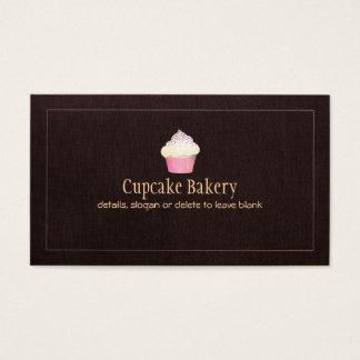 Chef de repostería de la panadería del tarjeta de negocios
