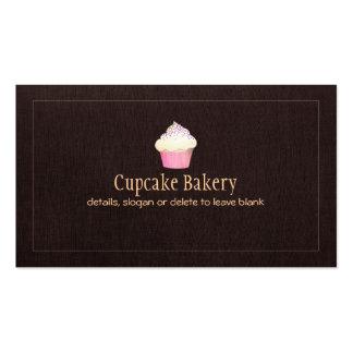 Chef de repostería de la panadería del tarjetas de visita