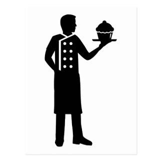 Chef de repostería postal