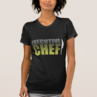 Chef ejecutivo amarillo camisas