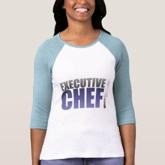 Chef ejecutivo azul camiseta