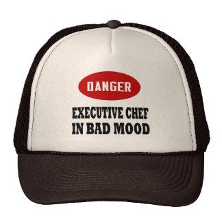 Chef ejecutivo divertido gorra