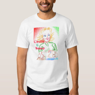Chelly y camisa de la caricatura del conejito