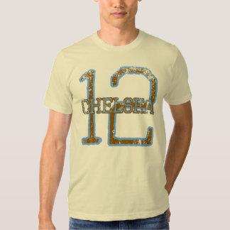 Chelsea 12 camisetas