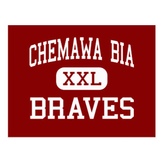 Chemawa BIA - Braves - High School secundaria - Postal