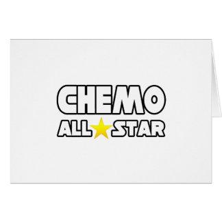 Chemo All Star Tarjeta De Felicitación