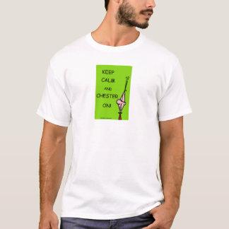 ¡Chester Pester Chesters encendido! Camiseta
