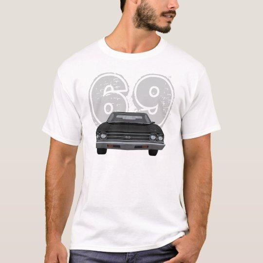 Chevelle 1969 SS: Acabado en negro: Camiseta