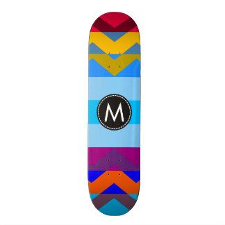 Chevron elegante de moda raya el modelo #6 tabla de patinar
