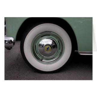 Chevy verde claro tarjeta