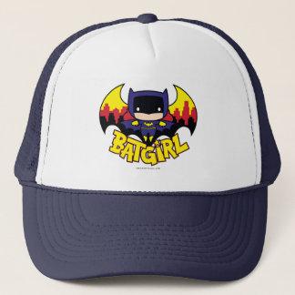 Chibi Batgirl con el horizonte y el logotipo de Gorra De Camionero