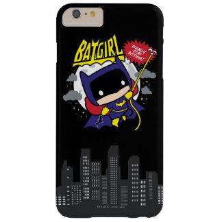 Chibi Batgirl listo para la acción Funda Barely There iPhone 6 Plus