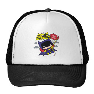 Chibi Batgirl listo para la acción Gorros