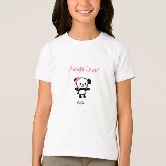 """Chica """"amor de la panda!"""" Camiseta"""