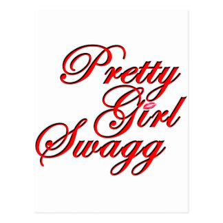 Chica bonito Swagg Postal