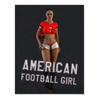 Chica Chablis del fútbol americano Comunicados