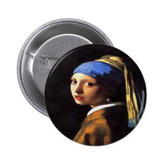 Chica con un pendiente de perla por jan vermeer