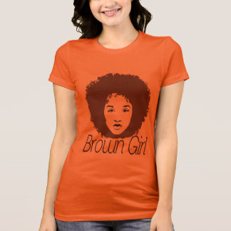Chica de Brown Camiseta