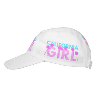 Chica de California Gorra De Alto Rendimiento