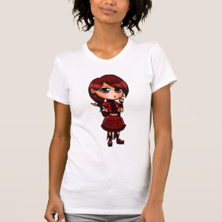 Chica de Chibi Lolita Camisetas