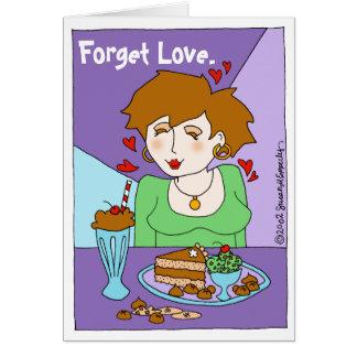 Chica de Chocoholic del amante lindo del chocolate Tarjeta De Felicitación