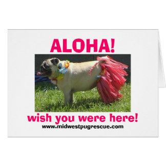 ¡Chica de hula de Sadie mayo, HAWAIANA! , desee Tarjeta De Felicitación