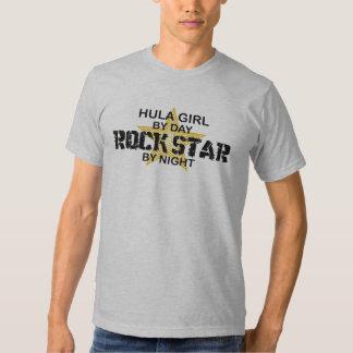 Chica de Hula por día, estrella del rock por noche Camiseta