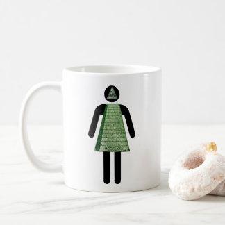 Chica de Illuminati Taza De Café