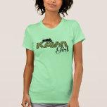 Chica de Kawi - estampado leopardo Camiseta