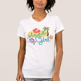 Chica de la isla - jersey fino de American Apparel