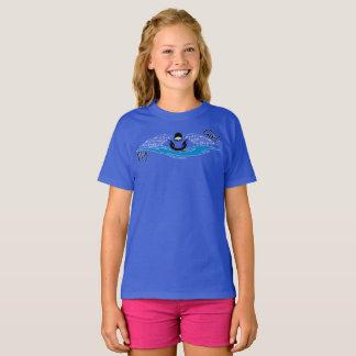 Chica de la mosca camiseta