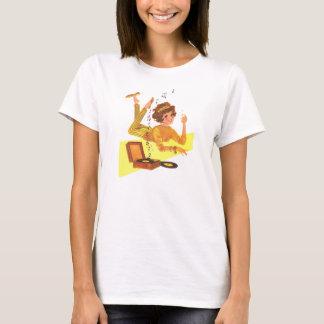 chica de la música de los años 60 camiseta