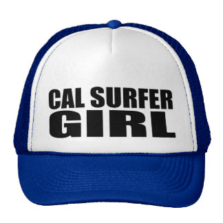 Chica de la persona que practica surf de Oxygentee Gorros Bordados