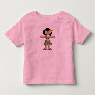 Chica de Luau Camisetas