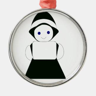 chica de lujo adorno de cerámica