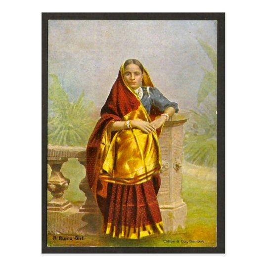 Chica de Madras Postal