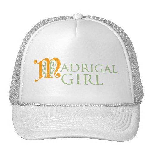 Chica de Madrigal Gorros