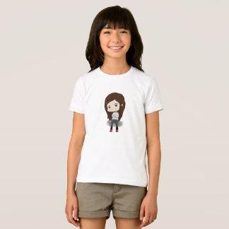Chica de moda - camiseta para el chica - el hacer