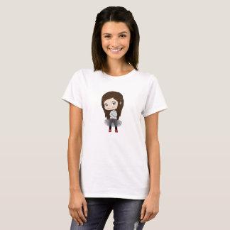 Chica de moda - camiseta para las mujeres - el