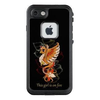 chica de Phoenix del caso del iPhone 7 FRE en el