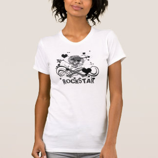 Chica de RockStar Camisetas